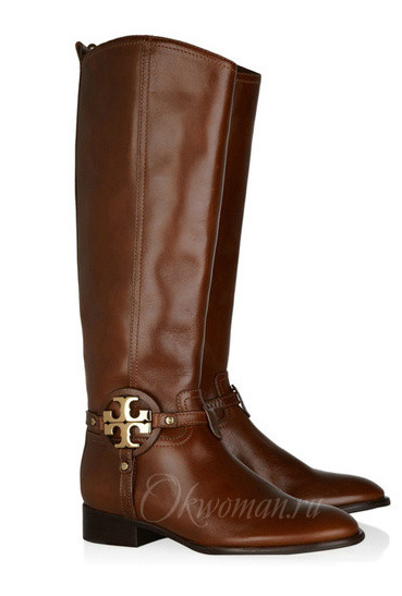 Tory Burch winter 2011 2012 fashion trends shoes boots